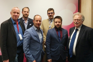Bernard Sadovnik, Niki Scherak, Matthias Strolz, Pavel Rodt, Matthias Wagner, Josef Hollos