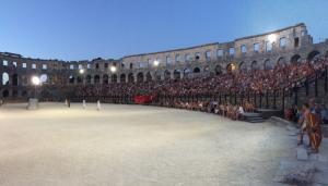 gladijatorske igre u pulskoj areni