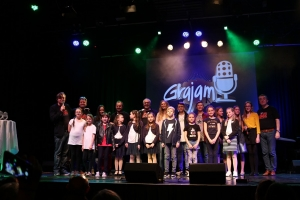 Finalisti Grajama 2018. na pozornici