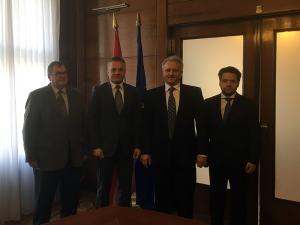 Johann Hersich, Zvonko Milas, Stanko Horvath, Matthias Wagner