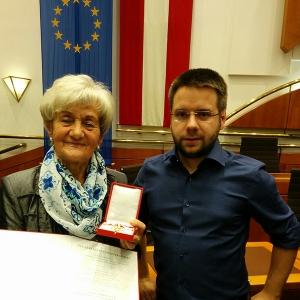 Zlatka Gieler i sekretar HKD-a Matthias Wagner